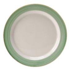 "Steelite 15290210 Simplicity Rio Green 10"" Slimline Plate - 24 / CS"
