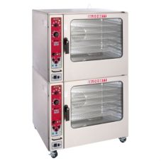 Blodgett BCX-14E DOUBLE Elec. Stacked Oven Steamer w/ Steam-on-Demand