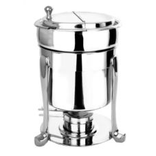 Eastern Tabletop  7 Qt. Marmite Soup Chafer w/ Stand and Freedom Legs