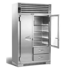 Traulsen UR48DT-14 Glass Door Spacesaver Refrigerator / Freezer