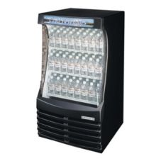 "Beverage-Air 29.75"" Black Breeze Open Display Case"