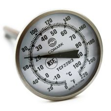 Comark TCF220/3 Dual Range Pocket Dial Thermometer