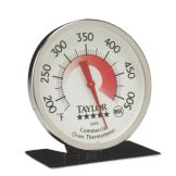 Taylor Precision 5995N 5* Commercial 200 - 500°F Oven Thermometer
