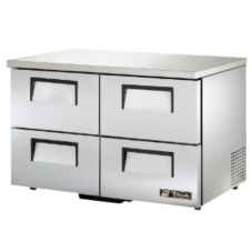 True TUC-48D-4-LP 4-Drawer 12 Cu Ft Undercounter Refrigerator