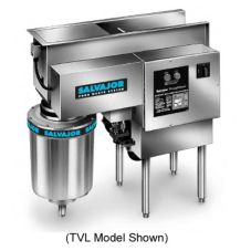 Salvajor 300 TVR TroughVeyor Right Side Food Waste Disposal System
