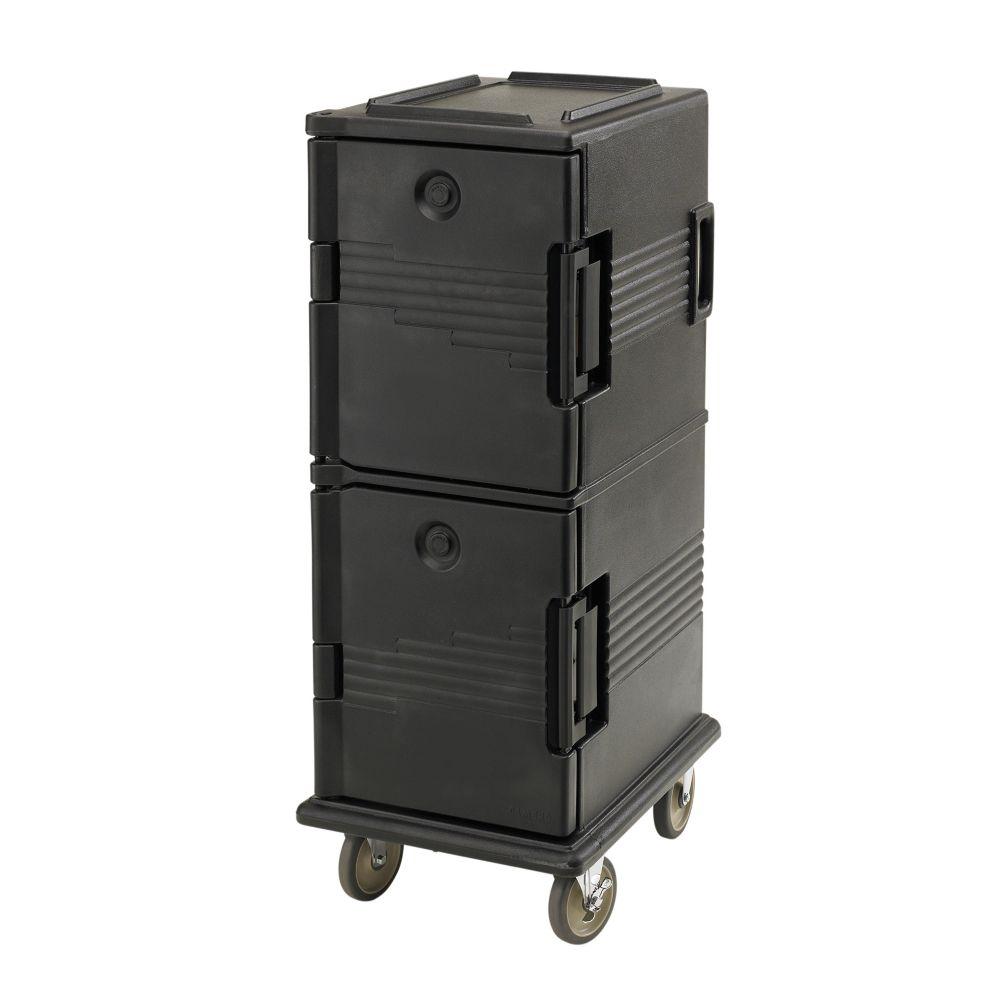 Cambro UPC800110 Camcart Black 60 Qt. Food Pan Carrier