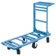 "Win-Holt® 550 Angled Iron Steel 18"" x 51"" Utility Cart"