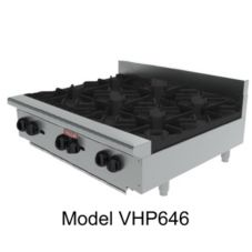 Vulcan Hart VHP848 Achiever Gas Hotplate with (8) 30,000 BTU Burners