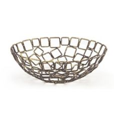"Front Of The House BBK013GOI22 8"" Coppered Linked Bowl - 6 / CS"