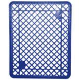 """Jeb Sales BKP-301BLU Blue 21-3/4"""" x 27-1/2"""" Plastic Bread Tray"""
