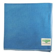 Unger Enterprises Light Duty Blue Microfiber Microwipe Cloth