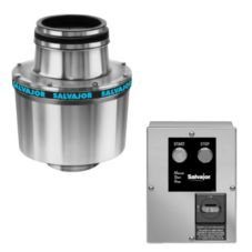 "Salvajor 1.5-HP Disposer w/ 18"" Cone Assembly / Safety Disconnect"
