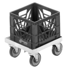 "Channel MC1313 Single 7.5"" x 14.25"" Milk Crate Dolly"
