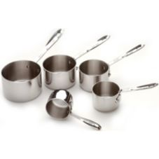 All-Clad Metalcrafters 59917 5 Piece Stainless Steel Measuring Cup Set