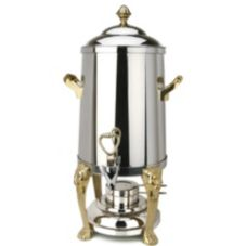 Eastern Tabletop 3203LH Stainless Steel 3 Gallon Lion Head Coffee Urn