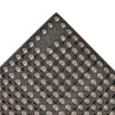 """NoTrax 182-998 Medium Black 39 x 29-1/4"""" San-Eze® Floor Mat"""