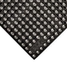 """Apex™ 182-881 Black San-Eze® 39 x 19-1/2"""" Floor Mat"""