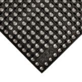 """NoTrax® 183-103 Black 39"""" x 39"""" San-Eze® Floor Mat"""