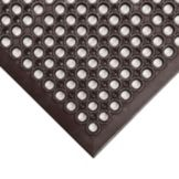 Apex™ 436-931 Black 3' x 5' Tek-Tough Jr® Floor Mat