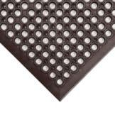 NoTrax® 436-931 Black Grease-Resistant Tek-Tough Jr® Mat