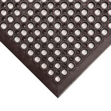 NoTrax® 436-931 Black Grease-Resistant Tek-Tough Jr® Mat