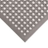 NoTrax® Gray Beveled Edge Tek-Tough Jr® Mat