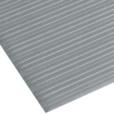 Apex™ 434-403 Silver Comfort Rest 3' Wide Anti-Fatigue Floor Mat