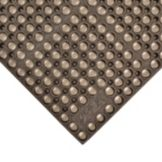 "NoTrax® 183-137 Brown 39"" x 39"" San-Eze® Floor Mat"