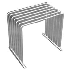 "Tomlinson 1031800 Stainless Steel 10 x 8 x 9"" Cutting Board Rack"