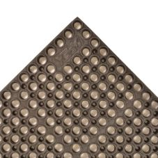 "Apex™ 183-244 Brown 39 x 58-1/2"" San-Eze® Floor Mat"