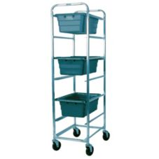 Win-Holt® AL-L-6 Mobile Aluminum 6-Shelf Lug Cart