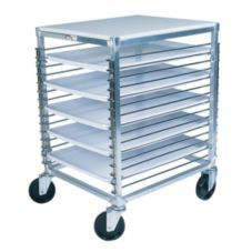 Win-Holt® WP-1815/PPT Poly Top Wire Pan Rack Cart for 15 Trays