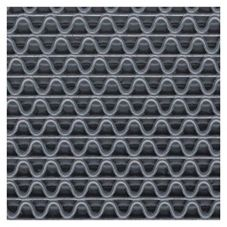 3M™ 20234 Gray 3' x 5' Medium Traffic Scraper Matting