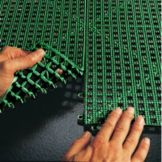 Cactus Mat 2554DRIDEK Dri-Dek Hunter Green 3' x 12' Interlocking Tile