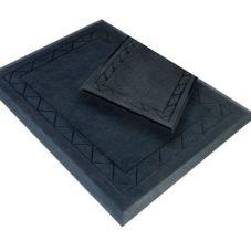 "Cactus Mat 2500-RS BLK Comfort Zone 28"" x 36"" Black Mat"