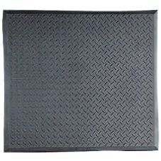"NoTrax® 367-813 Black 28"" x 31"" Footsaver® Floor Mat"