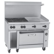 Vulcan Hart 48C-4B-24G Endurance Gas Restaurant Range with 4 Burners