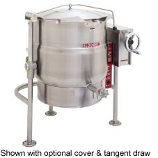 Blodgett 40E-KLT 40 Gal Electric 3-Leg Kettle w/ Manual Tilt Mechanism