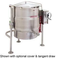 Blodgett 40E-KLT 40 Gal Electric 3-Leg Kettle w/ Manual Tilt Mechanism