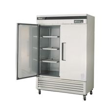 Turbo Air TSF-49SD Stainless Steel Super Deluxe 2-Door Freezer