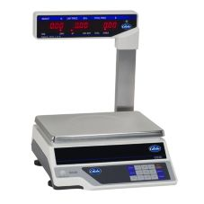 Globe Food GS30T Price Computing Scale w/ Display Tower / LCD Display