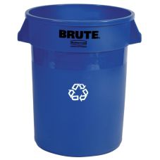 Rubbermaid® FG262073BLUE BRUTE 20 Gal Recycling Container w/o Lid