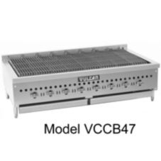 Vulcan Hart VCCB25 Countertop Gas 58,000 BTU Charbroiler w/ 4 Burners