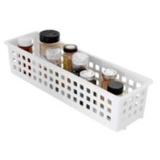 Rubbermaid® FG5580RDWHT White 20 In Slide 'n Stack Basket - 6 / CS