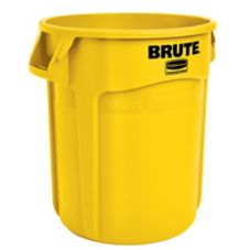 Rubbermaid® FG262000YEL BRUTE Yellow 20 Gal Container without Lid