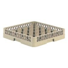 Vollrath® TR6 Traex® Beige 25 Compartment Glass Rack
