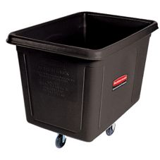 Rubbermaid Black 8 cu ft Cube Truck