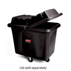 Rubbermaid Black 12 cu ft Cube Truck