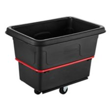 Rubbermaid Black Heavy Duty 8 cu ft Utility Truck
