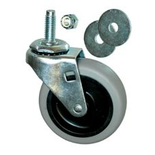 "Rubbermaid® 3530-L1 3"" Swivel Caster For 2640 / 3530 Dolly"